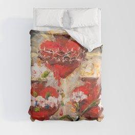 Sacratísimos Corazones III Comforters
