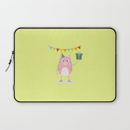 Happy Birthday Cat T-Shirt for all Ages Dhpeg Laptop Sleeve