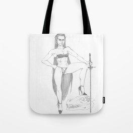 Saber Maid Tote Bag