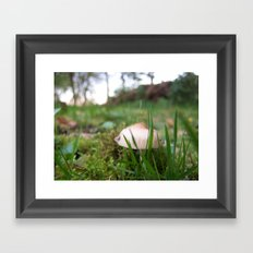 Don't worry i see you! Framed Art Print