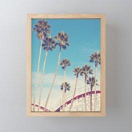 Feels Like Summer - Santa Cruz Framed Mini Art Print