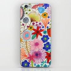 fleur-moi iPhone Skin