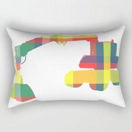 PLAID DIGGER Rectangular Pillow