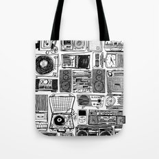 Music Boxes Tote Bag
