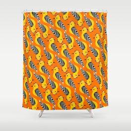 hoopoe Shower Curtain