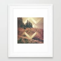 band Framed Art Prints featuring River Band by hallwood