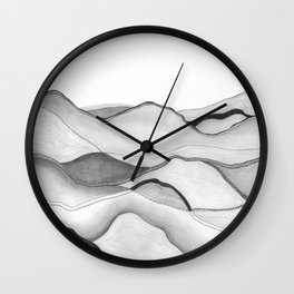 Mountainscape 5 Wall Clock