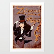 Zatanna! Mistress of Magic! Art Print