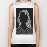 poker Biker Tanks featuring Poker Face by Laura Moreau