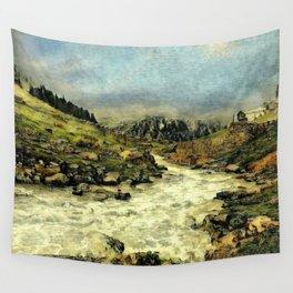 Mill Valley Stream Roar Wall Tapestry