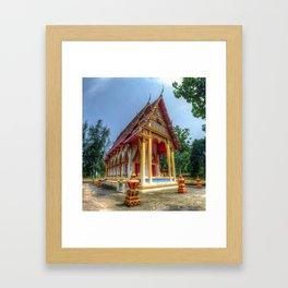 Thailand Temple #5 Framed Art Print