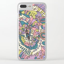 Tear My Heart Out Clear iPhone Case