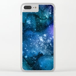 Exploring the Universe 21 Clear iPhone Case