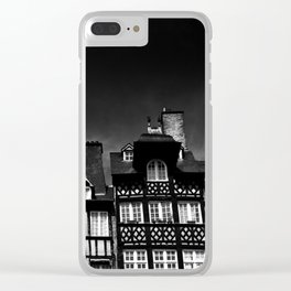 Crooked Rennes Clear iPhone Case