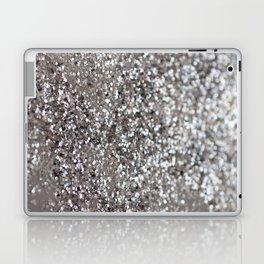 Sparkling SILVER Lady Glitter #1 #decor #art #society6 Laptop & iPad Skin