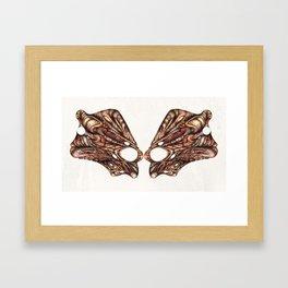 Masking Framed Art Print