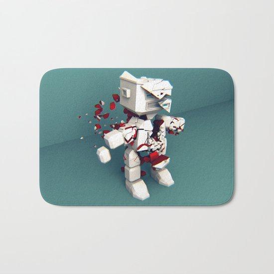 KILL ROBOT Bath Mat