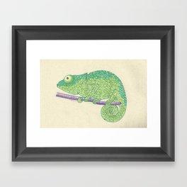 Chameleon? Framed Art Print