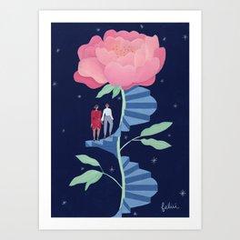 Le Rendez-Vous Art Print