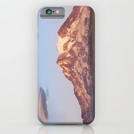 Lenticular Mt. Rainier iPhone Case