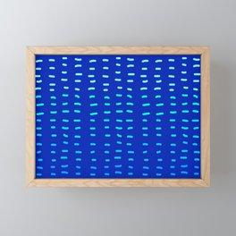 Fiesta at Festival - Royal Blue  Framed Mini Art Print