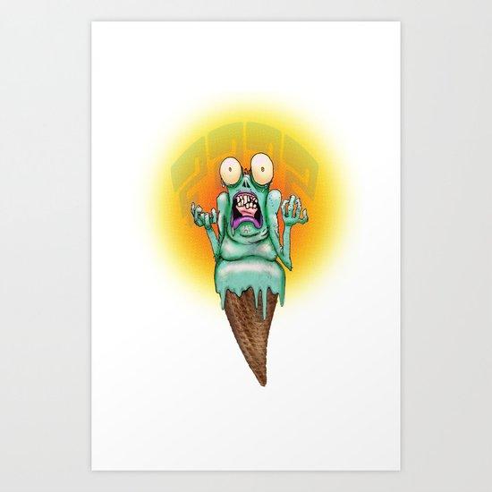 Why- Scream Art Print