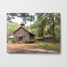 Berry College - Possum Trot Church Metal Print