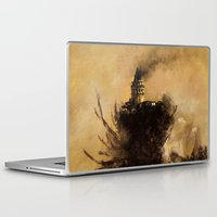 istanbul Laptop & iPad Skins featuring istanbul  by Atalay Mansuroğlu