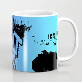 Meat is Murder Pop art Coffee Mug