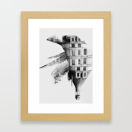 / habitat / home Framed Art Print