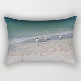 Dolphin Watching on Lover's Key Rectangular Pillow