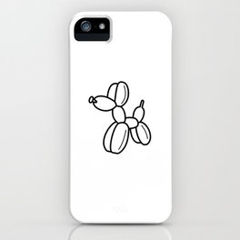 Outline pattern of modern art iPhone Case