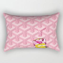 Goyard Pink Bape Rectangular Pillow