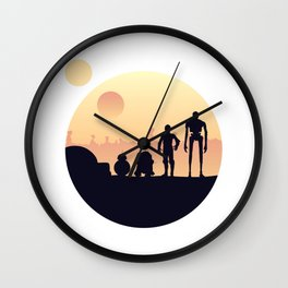 starwar droids Wall Clock