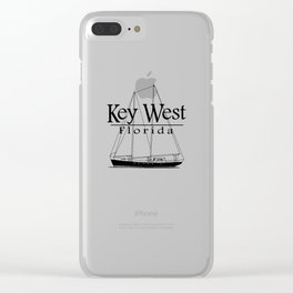 Key West Sailing Clear iPhone Case