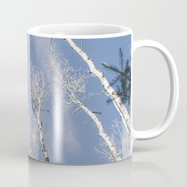 Aspen Tree Sky Coffee Mug