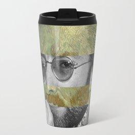 Van Gogh's Self Portrait & John Travel Mug