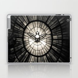The Holy Spirit as a dove Laptop & iPad Skin
