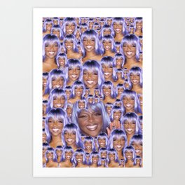 Infinity Kim Art Print