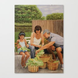 Bodine Road Farm Canvas Print