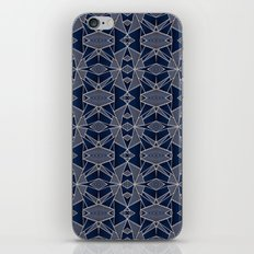 Triangle Tribal Indigo iPhone Skin