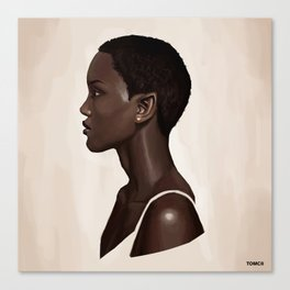 Elf Portrait Canvas Print