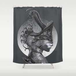 The Requiem Shower Curtain
