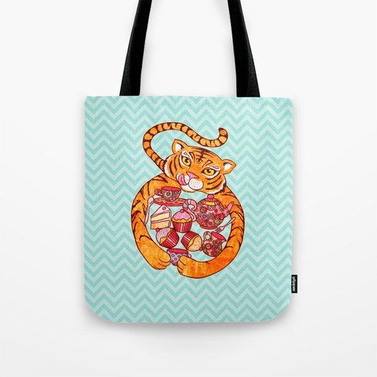 Tiger's Tea Tote Bag