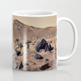 Surface Mars Nothing Cosmic Rocky Mountain Empty Resource Coffee Mug