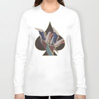 legs Long Sleeve T-shirts featuring Legs by temporaryglitch