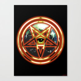 NEW WORLD ORDER Canvas Print