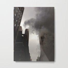 NYC Steam Metal Print