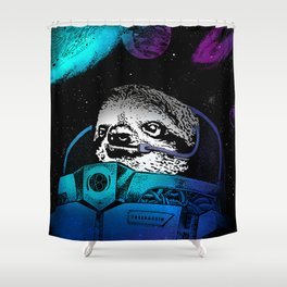 Astronaut Sloth 2 Shower Curtain