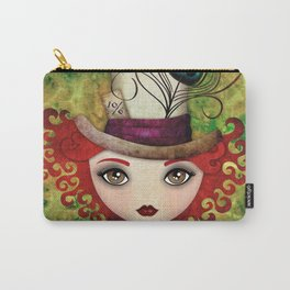 Lady Hatter Carry-All Pouch